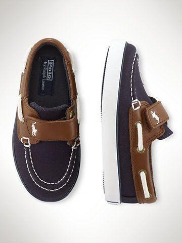8ed286180b27 Sander EZ Boat Shoe - Toddler 4-10 Shoes - RalphLauren.com  babyoxfordshoes