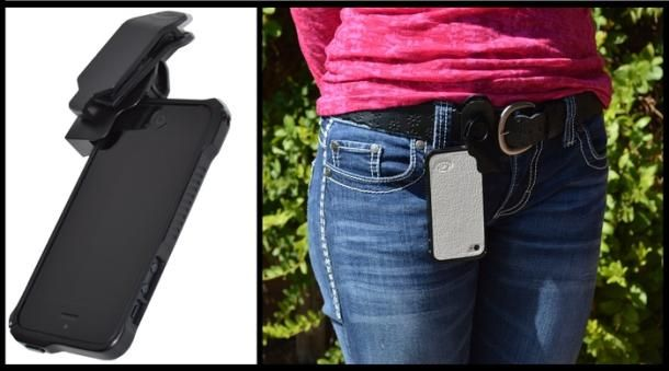 A cool iPhone holster? GSi locks it in place with magnets