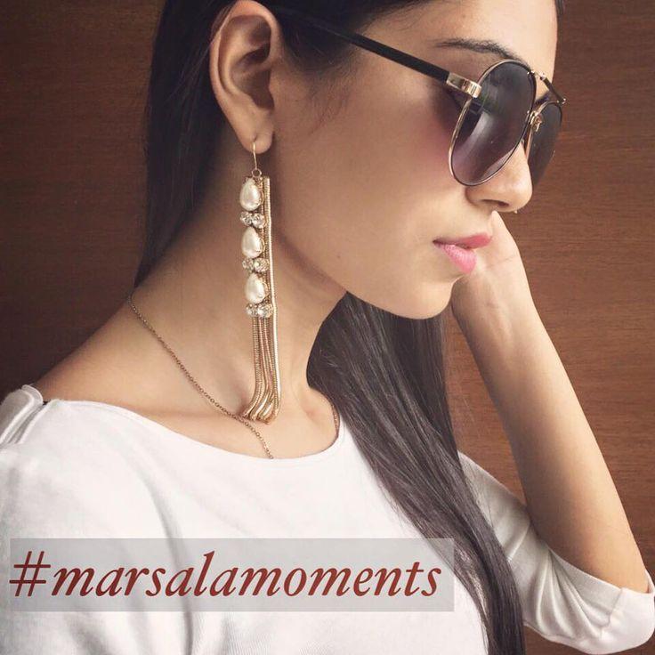 #Marsala #jewelry #ootd #fashion #Looks #styling #style