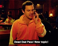 Ok question, just how will Nick be allowed to use his 'dead dad pass'?