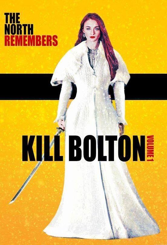 Y juntos van a aplastar al ejército de Bolton, liberar a Rickon, y entonces Sansa va a cortar la garganta de Ramsay.   El episodio de 'Juego de tronos' de esta semana trataba sobre hermanas simplemente fantásticas