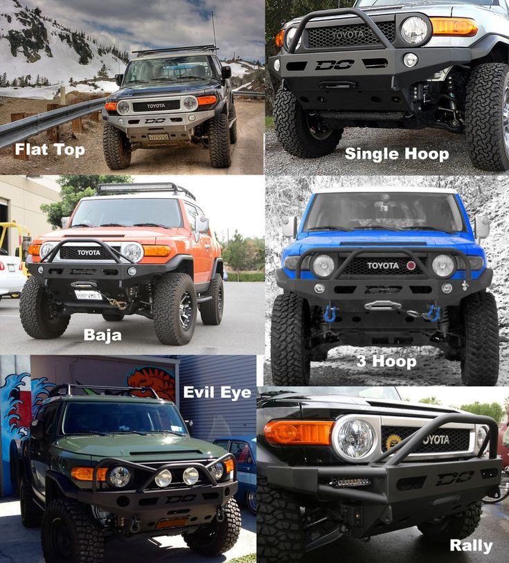 The NEW Complete Front Bumper Listing and Comparison Thread, UPDATED!!! - Toyota…