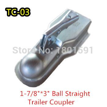 """wholesale New Trailer parts 1-7/8"""" Ball Trailer Hitch Coupler ,3""""Tongue Width of Trailer Coupler  Class I SAE for TC-03"""