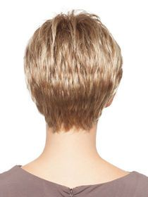 Short Fringe Fashion Human Hair Wig img