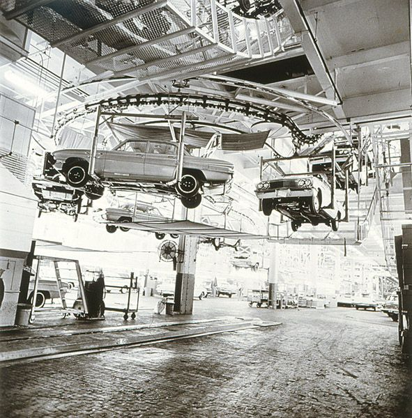 284 Best Gm Assembly Line Images On Pinterest