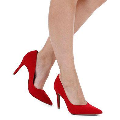 f721a4ea1e Sapato Scarpin Bebecê - Vermelho