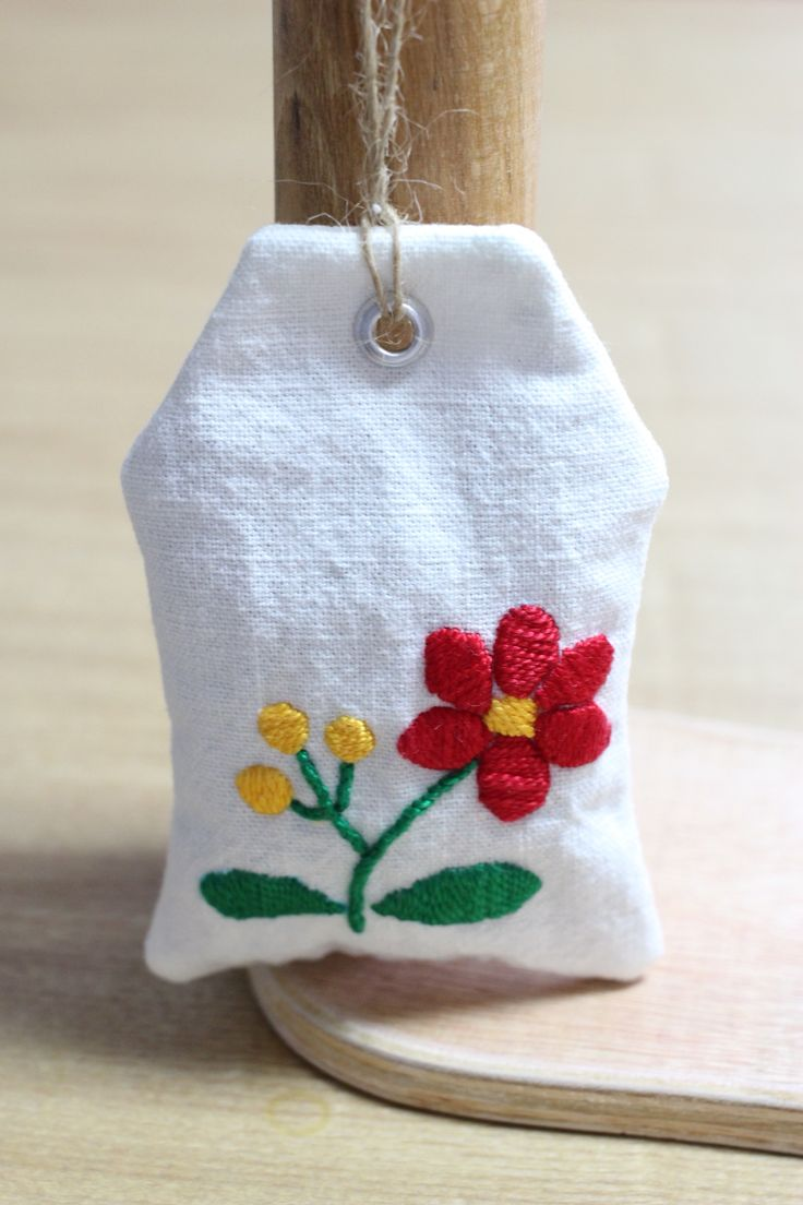 hungary embroidery sachet