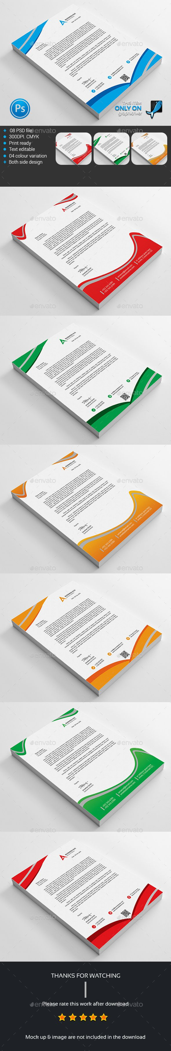 Corporate Business Letterhead Bundle 17 best Letterhead