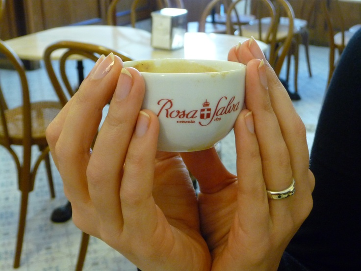 Coffee at the Rosa Salva taken by Vaughan Swanlund in Venice, Italy