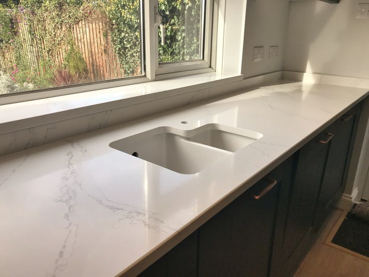 Best Installation Of Eternal Calacatta Gold Silestone Worktops 640 x 480