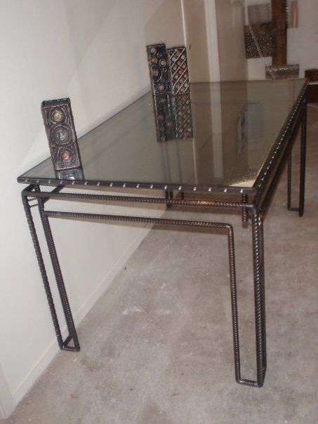 10 Best Furniture Rebar Images On Pinterest Welding