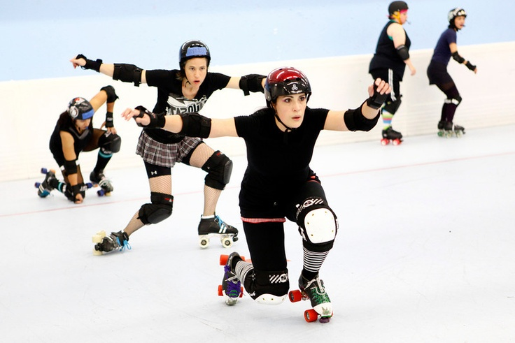 This website is a great resource for Roller Derby Drills.