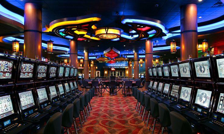 Interior Casino Design | Casino Upgrade | Interior Casino Décor | Gaming Floor Design | Themed Casino Design | Little Creek Casino