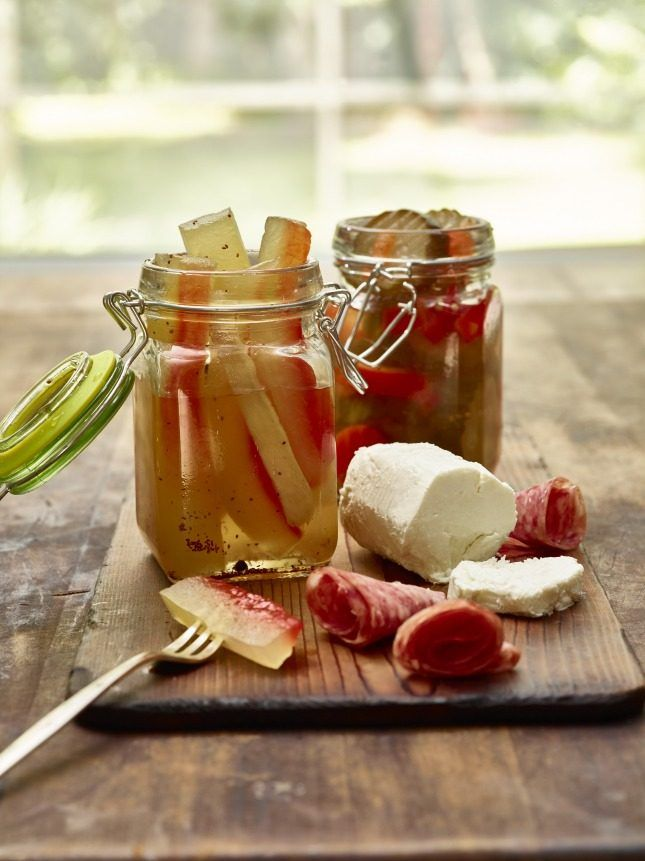 Make Watermelon Rind Pickles using this easy + creative pickling recipe.