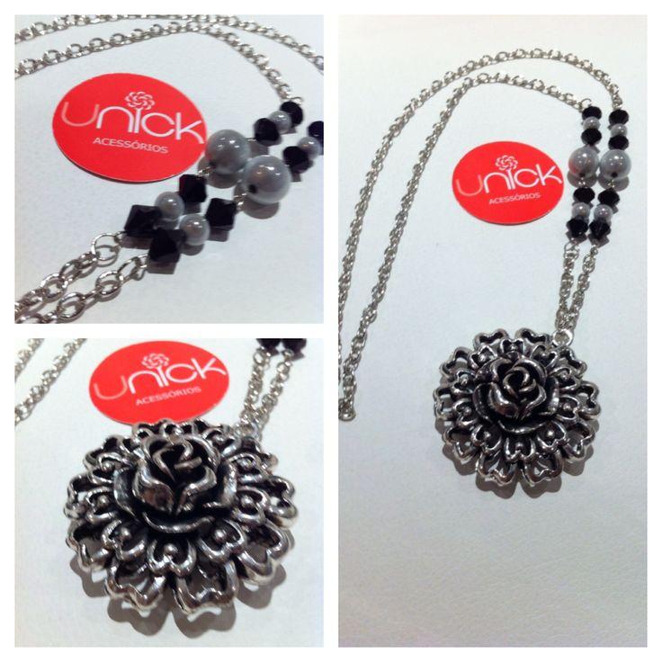 Colar, Necklace - unickacessorios@gmail.com