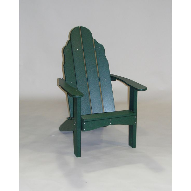 Tailwind Furniture Recycled Plastic Traditional Adirondack Chair