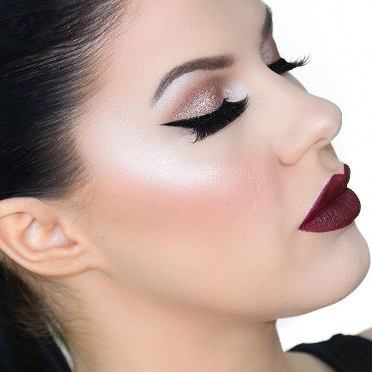 Night glow makeup look by Nikkia Joy