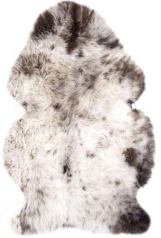 Genuine Large sheepskin rug /Véritable aviateur