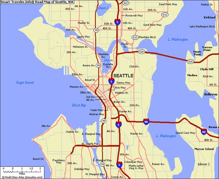 map of seattle  Google Search  Seattle  Surrounding  Pinterest