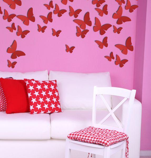 Fresh  D Schmetterlinge Wanddeko Schmetterling M von IlkaParey via dawanda
