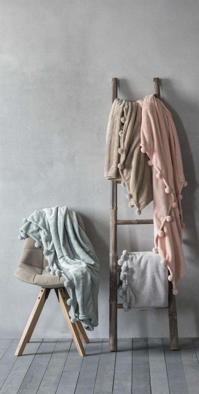 Sofadecke Karine Pom Sofa Decke Gemutlichkeit Und Stil