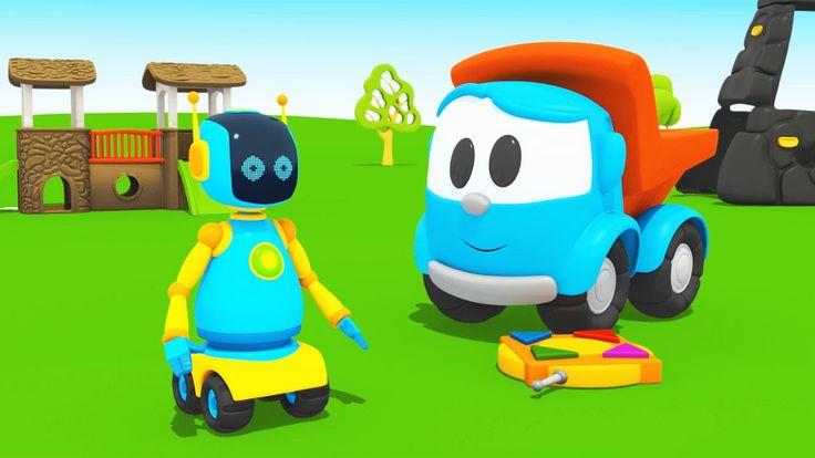 Cartoni animati per bambini: Leo Junior e il robot