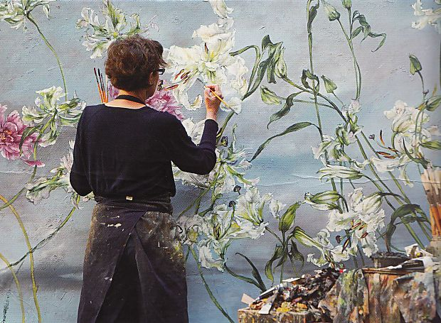 """""""i paint. with my heart, with my guts, my grief, my joy. i paint because it's my passion. because i don't how to do anything else. that's all."""" ~ claire basler"""
