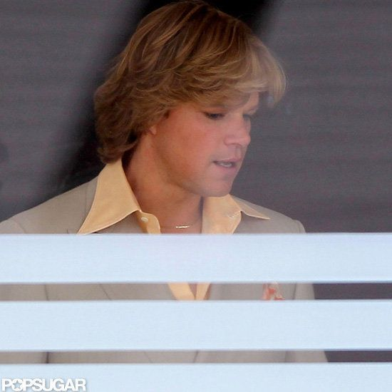 Matt Damon in Liberace Movie Pictures
