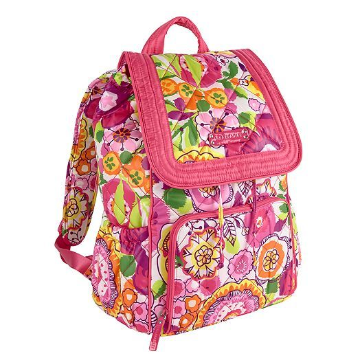 Puffy Backpack in Clementine