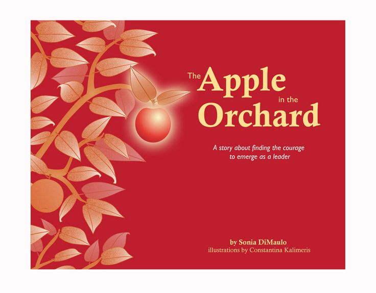 My new book - The Apple in the Orchard: A story about finding the courage to emerge