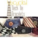 Upcycled Necktie Bracelet {Your Pick}