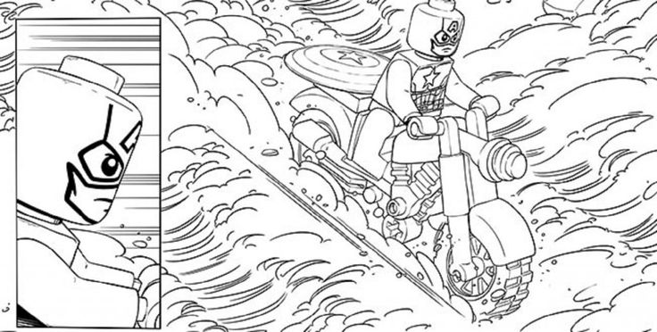 lego marvel coloring pages | Movie | Pinterest | Lego marvel