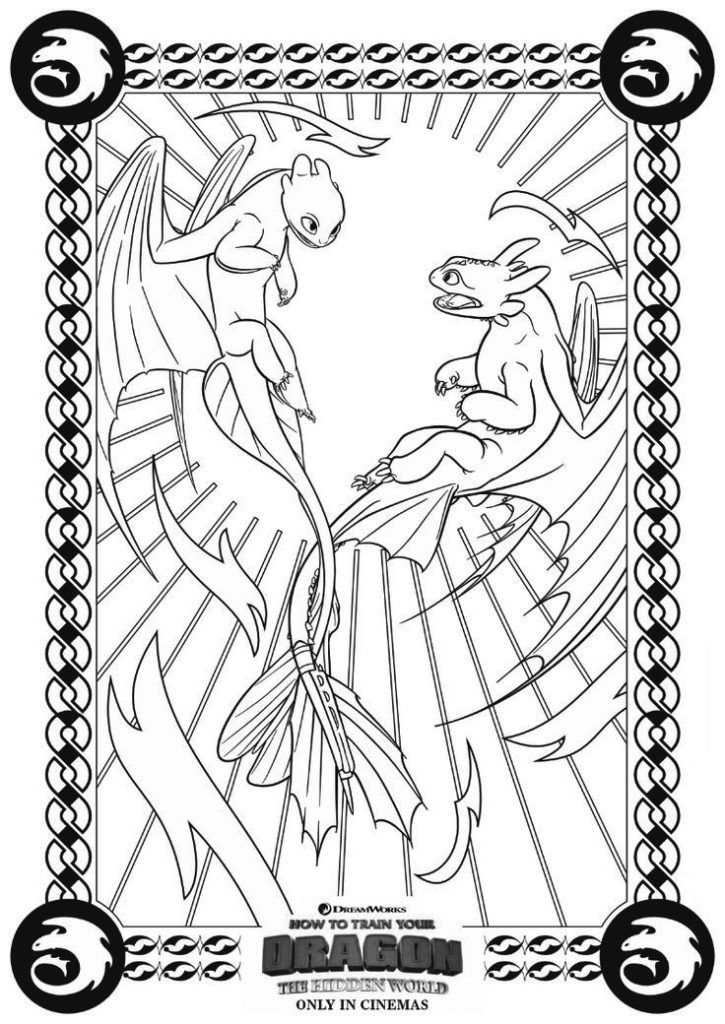 How To Train Your Dragon Coloring Pages Best Coloring Pages For Kids How Train Your Dragon How To Train Your Dragon Dragon Coloring Page