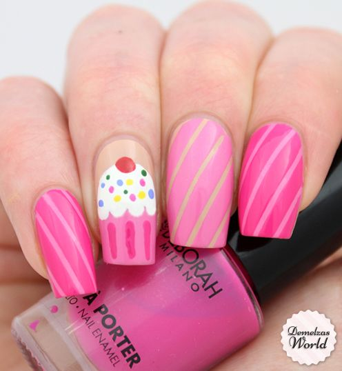 914 best dress up the nails images on pinterest dress artistic cupcake nail art isis lopez maitland scott prinsesfo Gallery