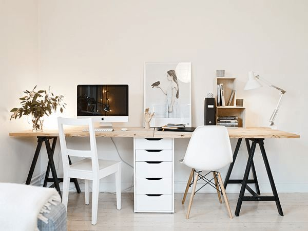 ikea desk for two