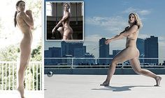 Female athletes and celebrities share body insecurities and pose naked