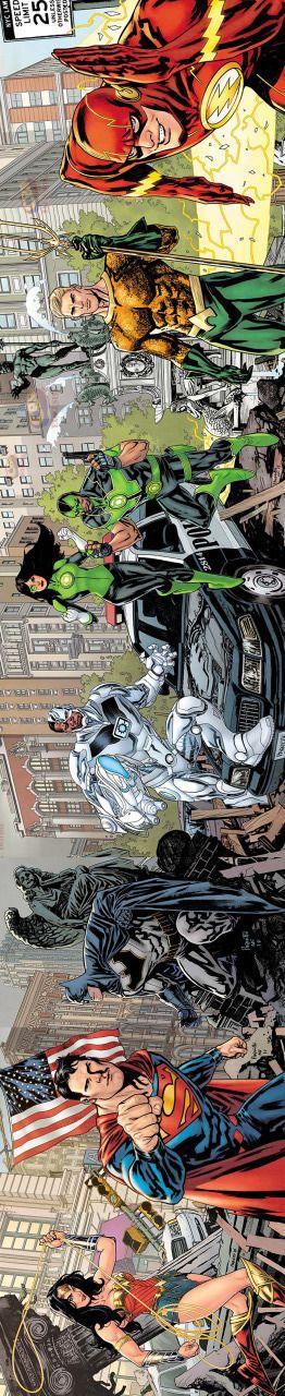 Justice League by Yannick Paquette.