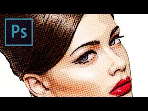 Photoshop CC 2014 tutorial showing how to transform an ordinary photo into a classic, comic book pop art-style, cartoon. This is an update to a tutorial I di...