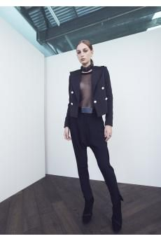 Stones and Grass Blazer, Prophet Tank and Arion Trouser by CAMILLA AND MARC