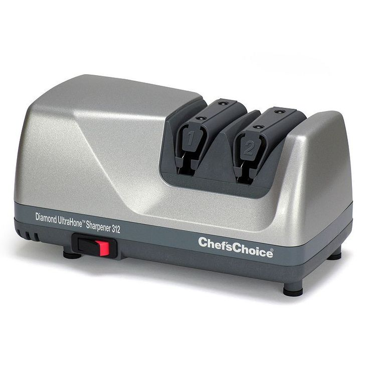 Chef'sChoice M312 Diamond UltraHone Knife Sharpener, Grey
