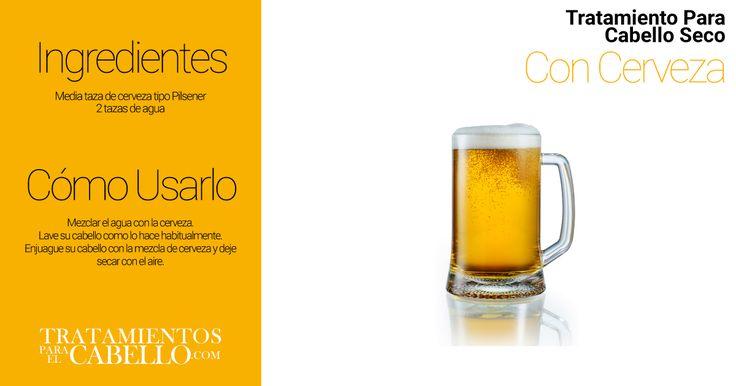Enjuague de Cerveza | Los Mejores 20 Tratamientos Caseros Para El Cabello Seco