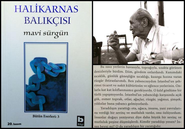 Bodrum'lu kitaplar... Halikarnas Balıkçısı / Mavi Sürgün