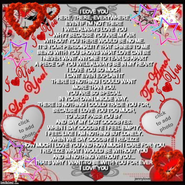 Love You With All My Heart Quotes For Him: I Love You Quotes For Ted My Baby.
