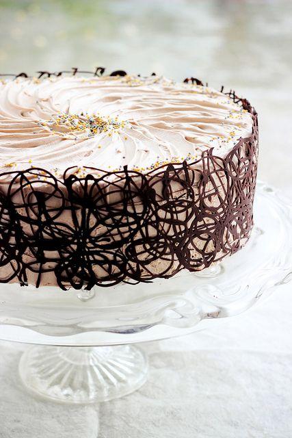 Chocolate Cake ummmmmmm.  Gorgeous.