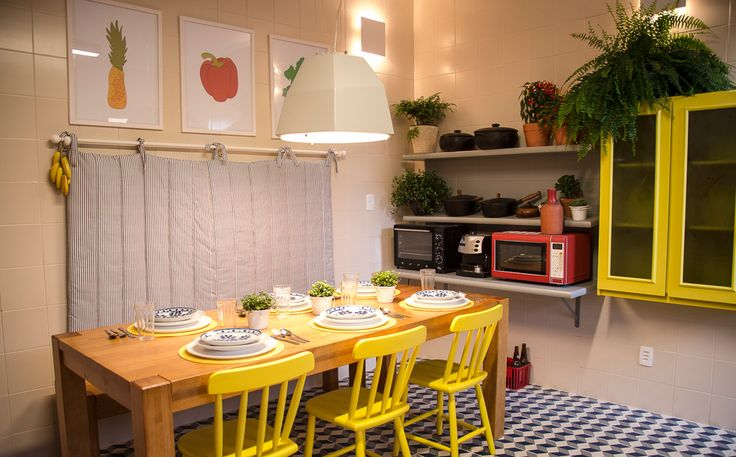 Marcelo Rosenbaum mistura cores e texturas na decoração da cozinha - Casa - GNT