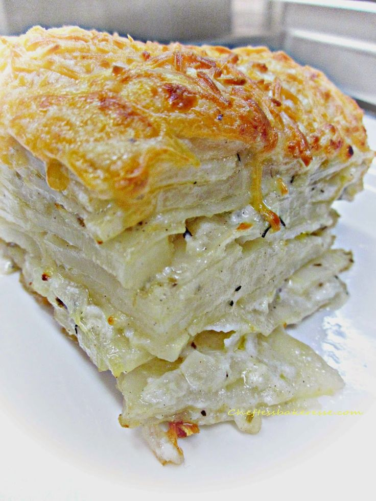 Chef Tess Bakeresse: Best Ever Make-Ahead Potato Gratin Casserole