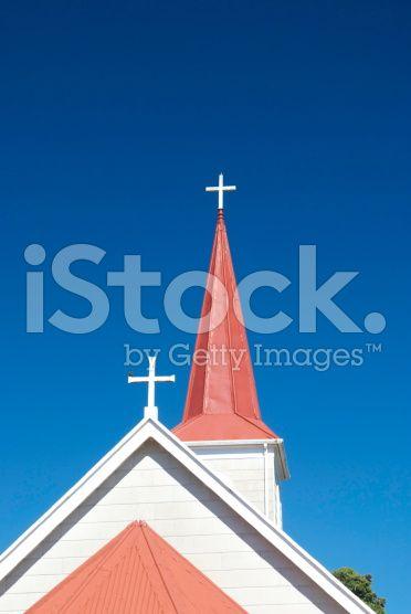 Crosses & Spires royalty-free stock photo