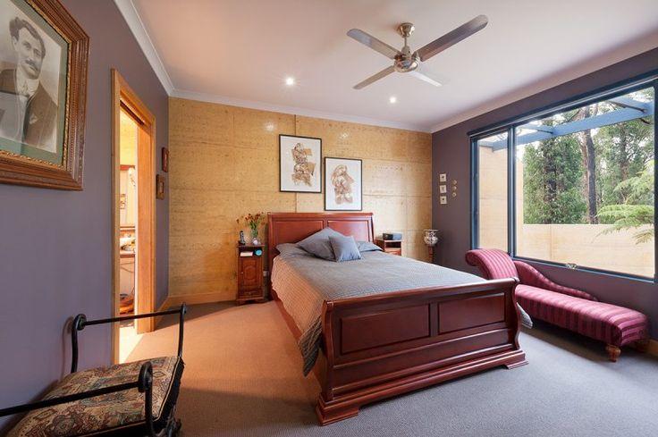 Bedroom Rammed Earth Feature Wall   Rammed Earth Enterprises