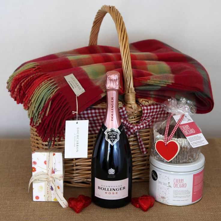 pink champagne proposal picnic hamper by jones and jones of berwick-upon-tweed | notonthehighstreet.com