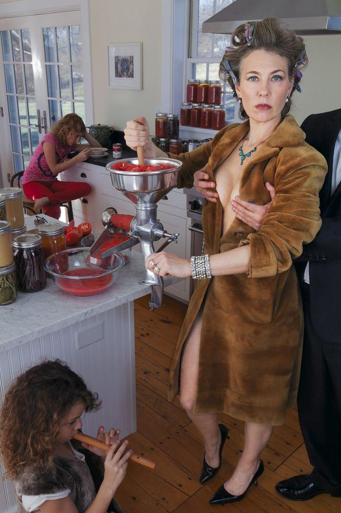 "#SusanCopich solo show ""Domestic Bliss"" opens Sat Aug 1-23 ar Cross #ContemporaryArt #Saugerties #photography #photos"